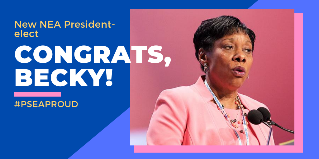 New NEA President-elect Becky Pringle