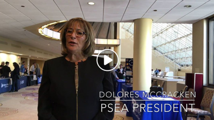 Video: PSEA President Dolores McCracken explains why we are stronger when we stand together
